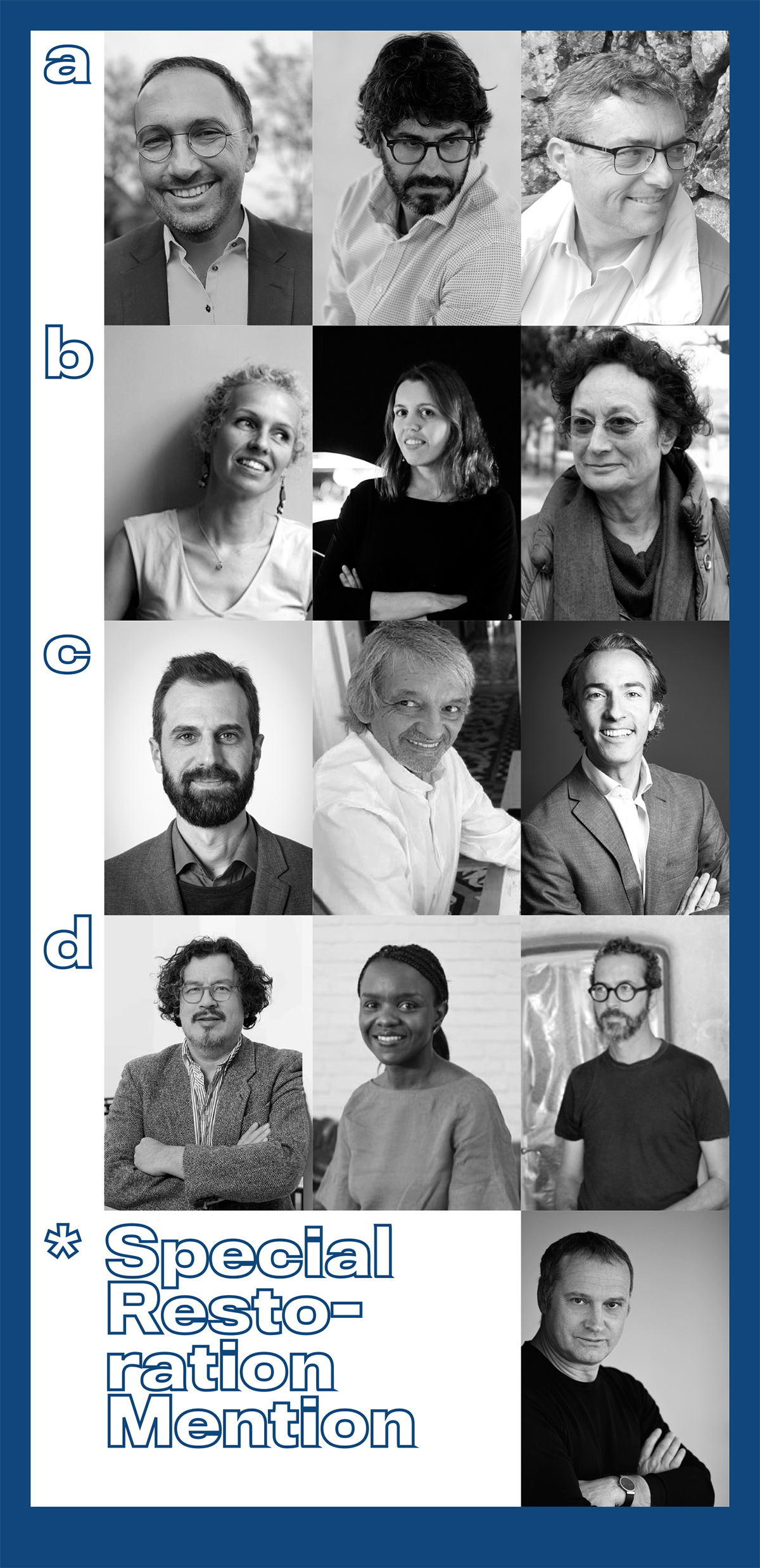 Jury for the 5th edition of the Award