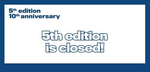 5ª edición del Premio, todo un éxito que coincide con la celebración de su décimo aniversario